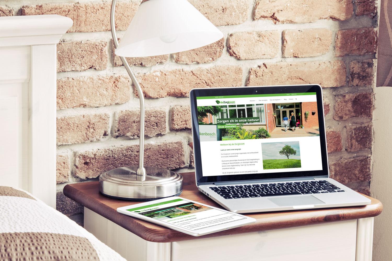 Website De Zorgboom